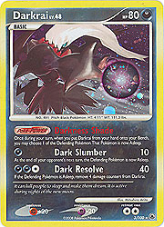 Pokemon Diamond and Pearl Majestic Dawn- Darkrai(Holofoil)