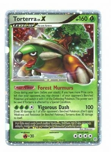Pokemon Diamond & Pearl Ultra Rare Card - Torterra EX 122 ...