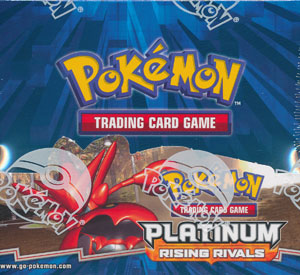 Pokemon EX Platinum Rising Rivals Booster Box