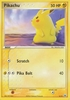 Pokemon Pikachu 6/10 Common Promo Single Card