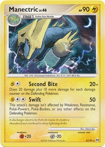 Pokemon Platinum Arceus Single Card Rare Manectric 22/99