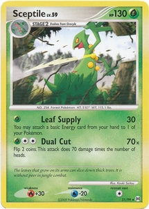 Pokemon Platinum Arceus Single Card Rare Sceptile 31/99