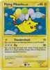 Pokemon Platinum Rising Rivals Single Card Holofoil Rare Flying Pikachu 113/111