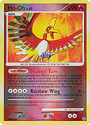 Pokemon Secret Wonders Holo Rare Card - Ho-Oh 10/132 Reverse