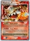 Pokemon Stormfront Ultra Rare Card - Heatran LV.X 97/100