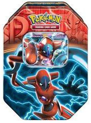 Pokemon Team Plasma 2013 EX Fall Tin - Deoxys EX