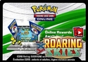 Pokemon XY Roaring Skies Online Code Card
