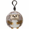 Prickles The Hedgehog (Plastic Key Clip) - 2.5 inch) - TY Beanie Ballz