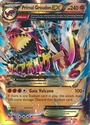 Primal Groudon EX 86/160 - Oversized Pokemon Promo Card