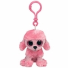 Princess The Pink Poodle Dog (Plastic Key Clip) - TY Beanie Boos