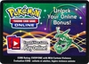 Rayquaza Tin Unused Code Card