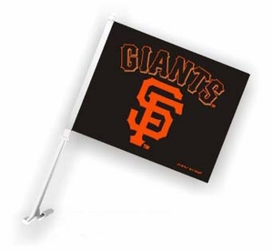 San Francisco Giants MLB Team Car Flag