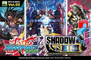 Shadow vs. Hero Booster Booster Box - Future Card Buddyfight
