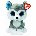 Slush the Husky Glitter Eyes (Regular Size) - TY Beanie Boos