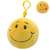 Smiley The Smile Face (Plastic Key Clip) - TY Beanie Ballz