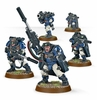 Space Marine Scouts with Sniper Rifles - Warhammer