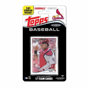 St. Louis Cardinals 2014 Topps Baseball Card Team Set