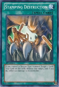 Stamping Destruction YSKR-EN034 - YuGiOh Common Card