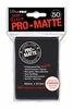 Ultra Pro Pro-Matte Standard Sized Sleeves - Black (50 Card Sleeves)