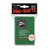 Ultra Pro Pro-Matte Standard Sized Sleeves - Green (50 Card Sleeves)