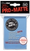 Ultra Pro Pro-Matte Standard Sized Sleeves - Light Blue (50 Card Sleeves)
