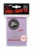 Ultra Pro Pro-Matte Standard Sized Sleeves - Lilac (50 Card Sleeves)