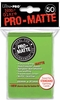 Ultra Pro Pro-Matte Standard Sized Sleeves - Lime Green (50 Card Sleeves)