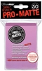 Ultra Pro Pro-Matte Standard Sized Sleeves - Pink (50 Card Sleeves)