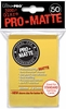 Ultra Pro Pro-Matte Standard Sized Sleeves - Yellow (50 Card Sleeves)