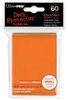 Ultra Pro Small Sized Sleeves - Orange (60 Card Sleeves)