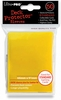 Ultra Pro Standard Sized Sleeves - Yellow (50 Card Sleeves)