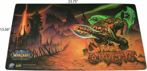 World of Warcraft Fires of Outland Release Playmat / Mousepad