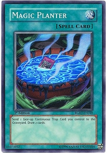 YuGiOh 5D's Raging Battle Single Card Magic Planter Super Rare