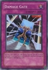 Yugioh 5D's Shining Darkness Single Super Rare Damage Gate Card
