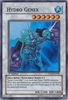 Yugioh 5D's Shining Darkness Single Super Rare Hydro Genex Card