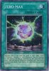 Yugioh 5D's Shining Darkness Single Super Rare Zero-Max Card