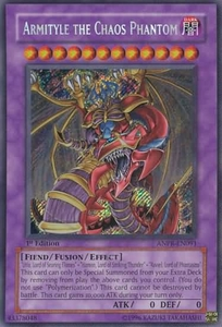 YuGiOh Ancient Prophecy Armityle the Chaos Phantom ANPR-EN091 Secret Rare Single Card