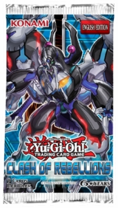YuGiOh Clash Of Rebellions Booster Pack