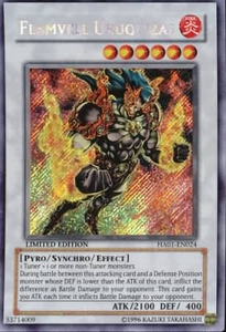YuGiOh Hidden Arsenal 1 Flamvell Uruquizas HA01-EN024 Secret Rare Single Card