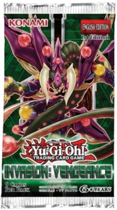 YuGiOh Invasion Vengeance Booster Pack