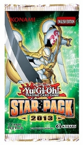 YuGiOh Star Pack 2013 Booster Pack