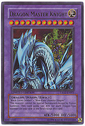 YuGiOh Ultra Rare Promo Card - Dragon Master Knight UE02-EN001