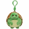 Zoom The Turtle (Plastic Key Clip) - TY Beanie Ballz