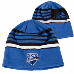 Montreal Impact adidas 2014 Coaches Knit Beanie Hat - Blue