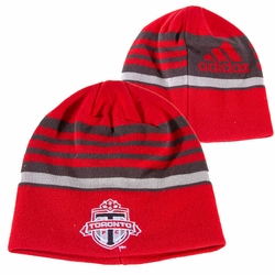 Toronto FC adidas 2014 Coaches Knit Beanie Hat - Red
