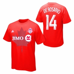 Toronto FC adidas The Go To De Rosario #14 Tee - Red
