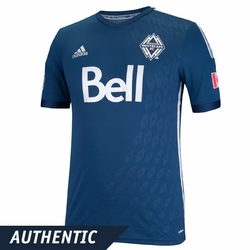 Vancouver Whitecaps FC adidas 2014 Authentic Short Sleeve Alternate Jersey - Navy