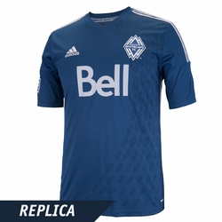Vancouver Whitecaps FC adidas 2014 Replica Short Sleeve Alternate Jersey - Navy