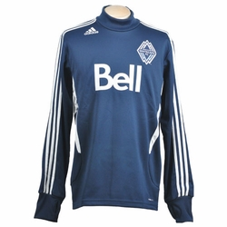 Vancouver Whitecaps FC adidas Training L/S Pullover - Navy