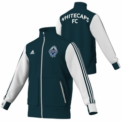Vancouver Whitecaps FC adidas Ultimate Jacket - Navy/White